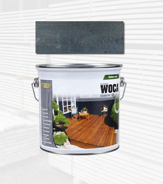 Woca Exterior Oil Antraciet